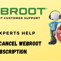 How to cancel Webroot subscription