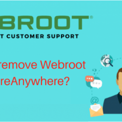 How to remove Webroot SecureAnywhere