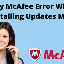 Why McAfee Error While Installing Updates Mac