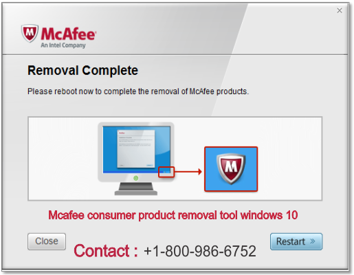 Mcafee consumer product removal tool windows 10