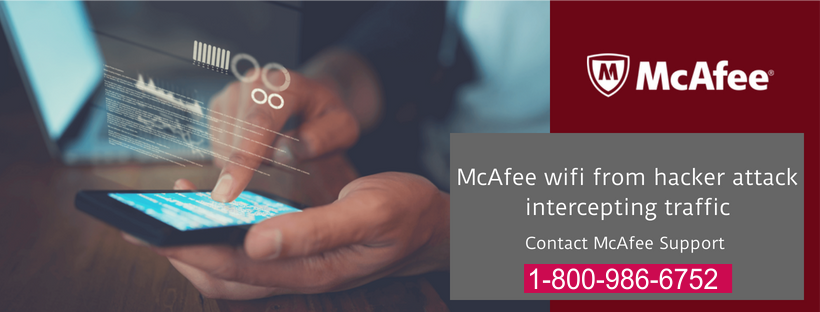 Mcafee wifi from attack by hacker intercepting traffic