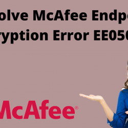 resolve McAfee endpoint encryption error EE050014