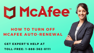 How to turn off McAfee Auto-Renewal